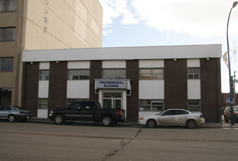 Professional Building Grande Prairie Office Space for Lease